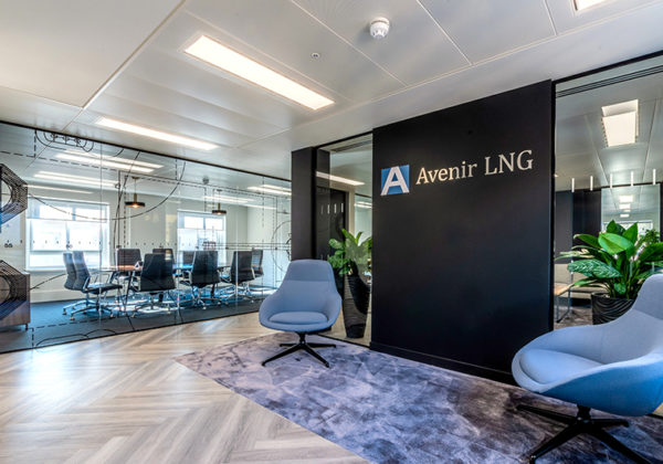 Avenir LNG New Office and Website