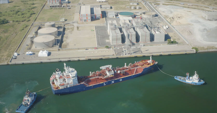 The Avenir Accolade arrived at the HIGAS LNG Terminal in Sardinia